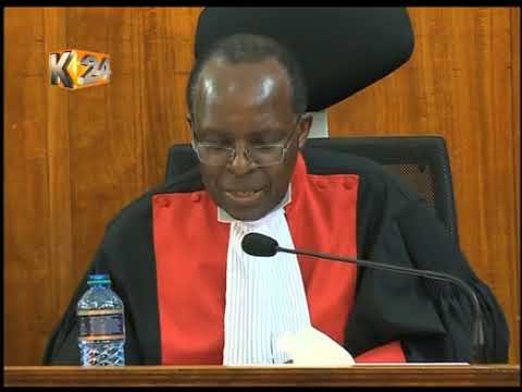 Justice Ojwang:Their is no evidence to warrant cancellation of Kenyatta's win