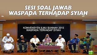 KIU2015WTS - Sesi Soal Jawab - Waspada Terhadap Syiah