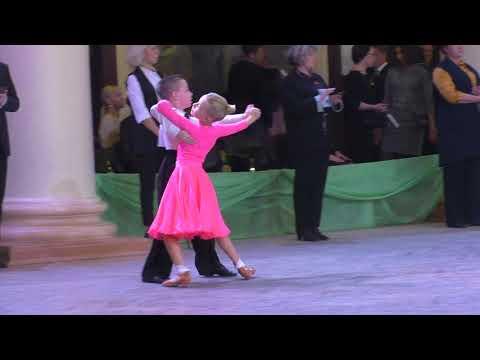 Финал Дети 1 Е класс Медленный вальс - Кубок УрФУ в Екатеринбурге