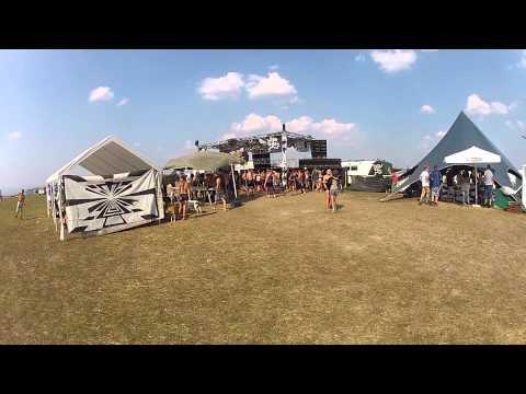 Romania Teknival 2015 (Teknopolis Overview)