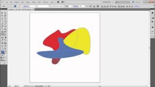 60 Second Illustrator Tutorial : Shape Builder Tool -HD-