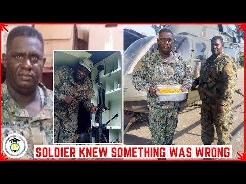 Soldier knew he