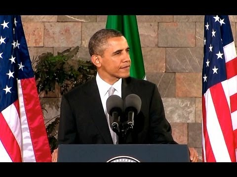 President Obama Speaks to the People of Mexico