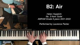B:2 Air (ABRSM Grade 8 piano 2021-2022)