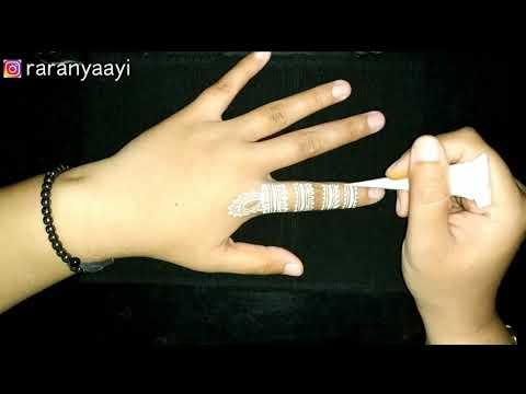 Gambar Henna Tangan Sederhana Untuk Pemula