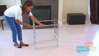 Gambar cover Honey-Can-Do CRT-01683 12-Drawer Studio Organizer Cart Instruction Video