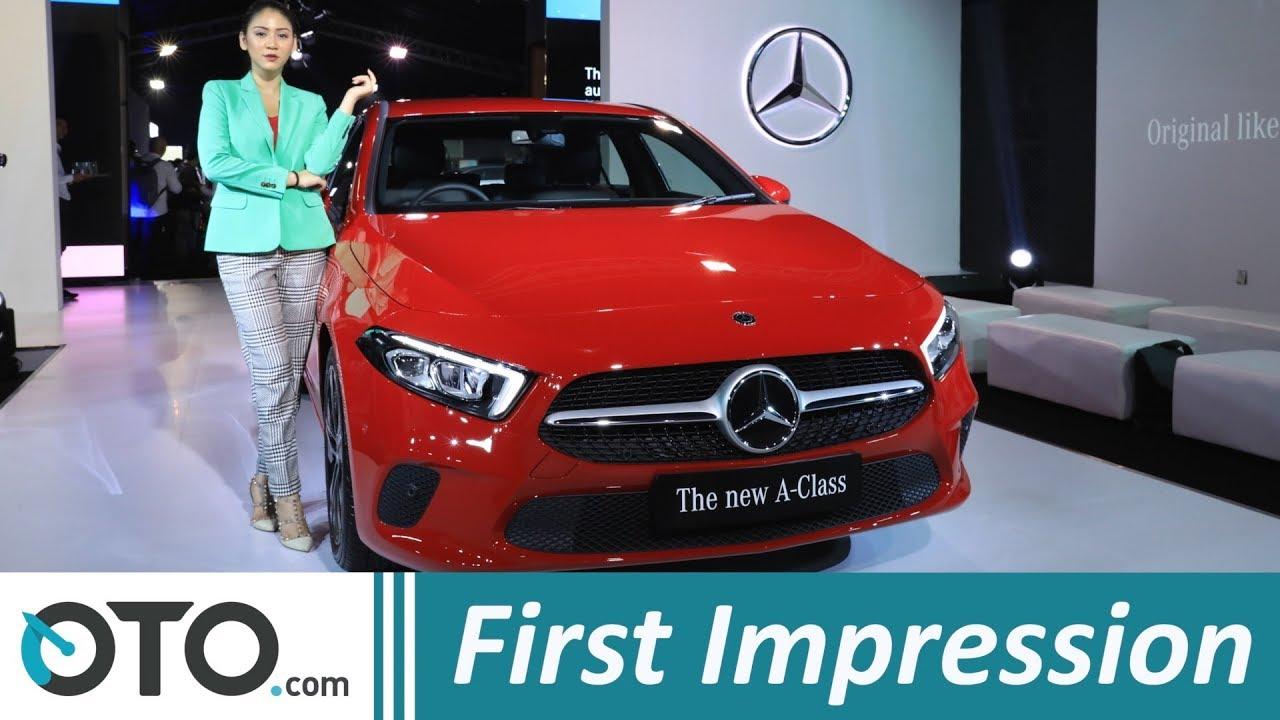 Mercedes Benz A Class Cls Class Dan V Class First Impression Oto Com Youtube
