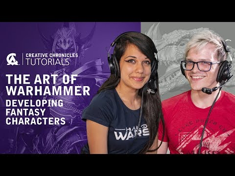 Character Art Tutorial : The Art of Total War: Warhammer | Creative Assembly and BAFTA Games thumbnail