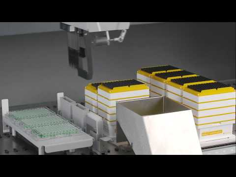 Disposable Transfer Tool for optimized nested LiHa disposable tip logistics