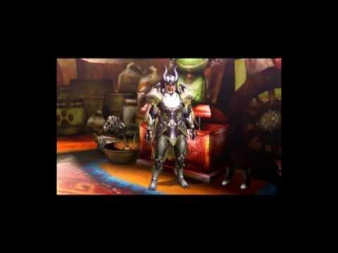 モンハン4G アーク装備画像(男性/剣士)  モンスターハンター装備編