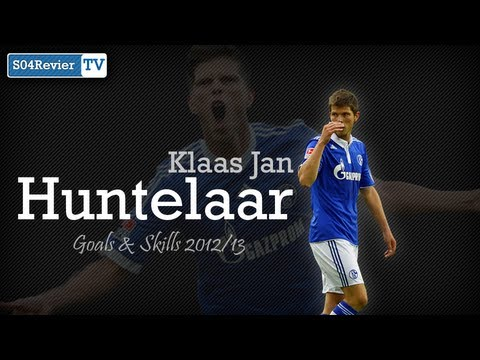 Klaas Jan Huntelaar - Goals & Skills 2012/13 [HD|720p]