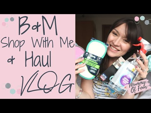 B&M SHOP WITH ME & HAUL 2019 | SHOPPING WITH KIDS DITL VLOG | HINCH HAUL | MUMMY OF FOUR