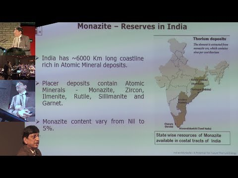 Indian Thorium, Monazite And Rare Earths - Dr. Deependra Singh @ ThEC2018