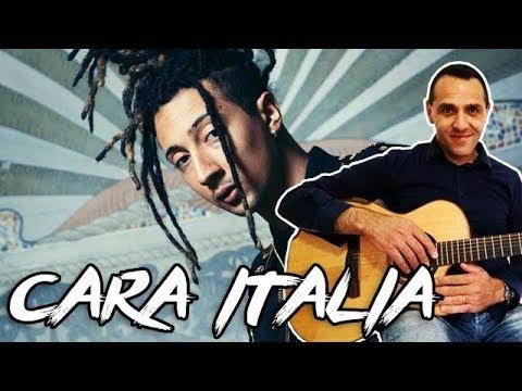 Ghali - Cara Italia - Chitarra Facile - Accordi e Intro