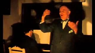 Het duo Peter Serpenti (piano) en J. van Deurse (zang)