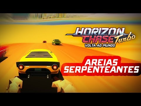 Horizon Chase Turbo (PC) - Volta ao Mundo: Areias Serpenteantes (Super Troféu) Gameplay