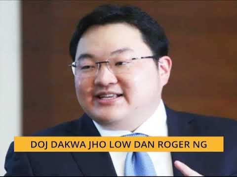 DOJ dakwa Jho Low dan Roger Ng