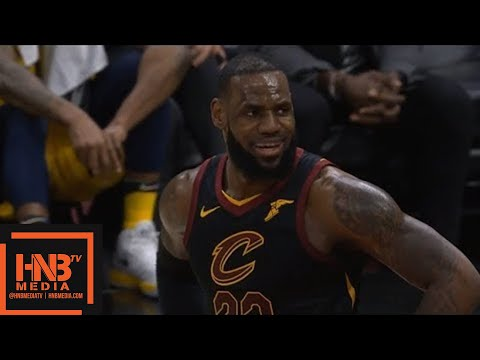 Cleveland Cavaliers vs Indiana Pacers 1st Half Highlights / Game 2 / 2018 NBA Playoffs