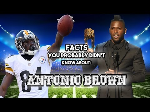Antonio Brown: 20 Facts You Probably Didn't Know