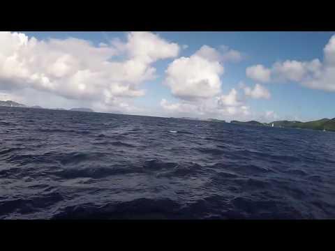 Sailing the British Virgin Islands on a Luxury Catamaran