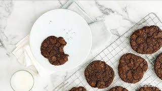 Double Chocolate Chunk Cookies - Martha Stewart