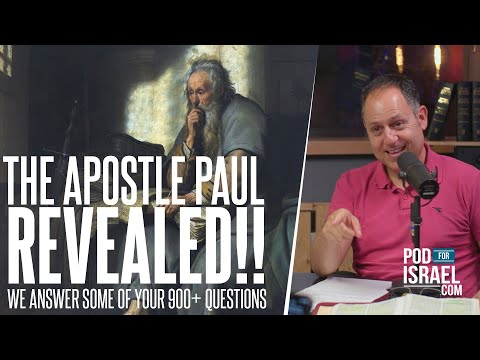 The Apostle Paul REVEALED!  Answering some of the 900+ questions we received about the Apostle Paul.