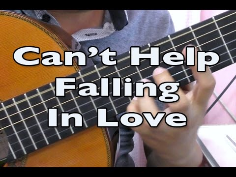 (FREE TABS) Can't Help Falling In Love - Elvis Presley (solo guitar cover)