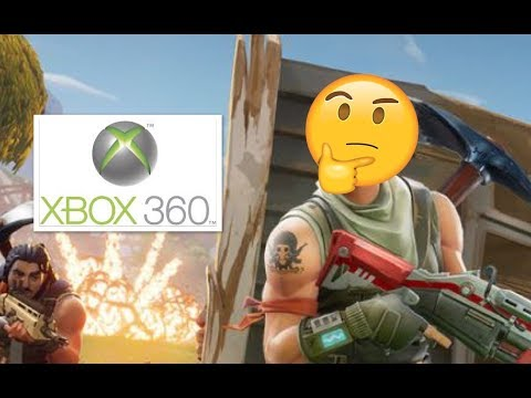 Can You Get Fortnite On Xbox 360 ? // Fortnite Battle Royale