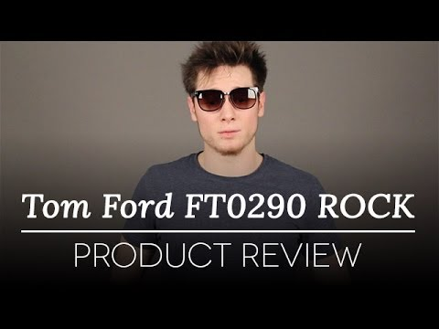 4f75a1e7da Tom Ford Sunglasses - Tom Ford ROCK FT0290 Sunglasses Review - YouTube