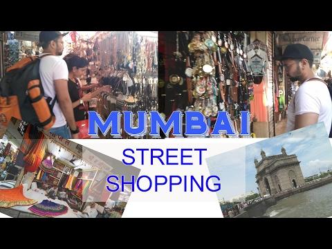 Mumbai Street Shopping at Colaba Shopping Challenge   Mumbai Vlog