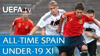 Iniesta, Ramos, De Gea... see Spain's all-time U19 XI