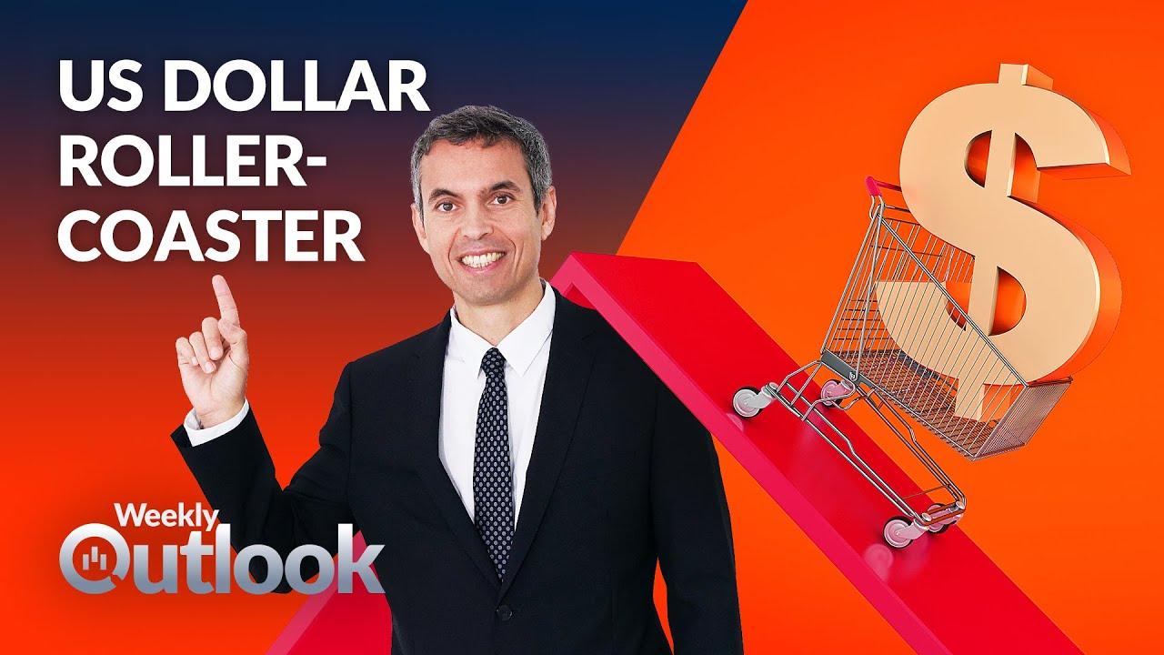 Mixed data drives dollar's ups and downs