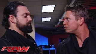 The Miz fires Damien Mizdow: Raw, February 2, 2015