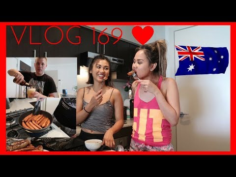 COOKING AUSTRALIAN BBQ IN THE HOUSE!!