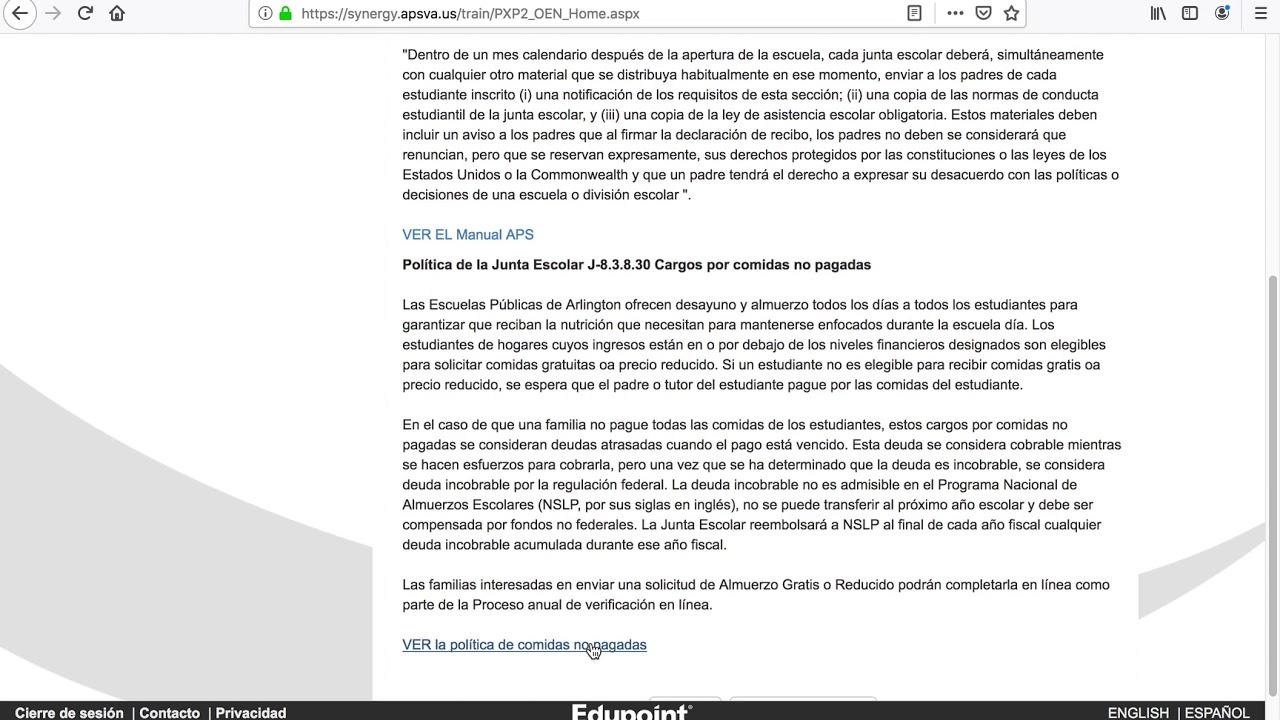 Online Verification (Spanish)