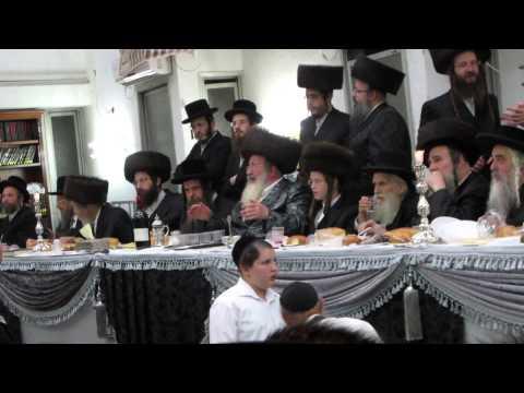 Spinka Rebbe Bar Mitzvah grandson Tamuz 5775
