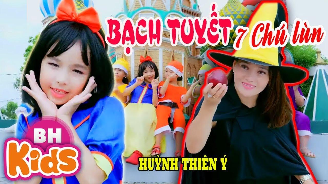 Bạch Tuyết & Bảy Chú Lùn ♫ Huỳnh Thiên Ý ♫♫ Nhạc Thiếu Nhi Cổ Tích Vui Nhộn
