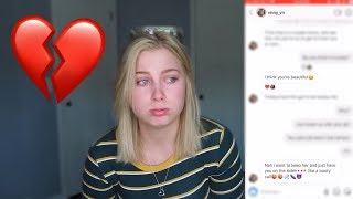 CATFISHING MY BOYFRIEND LEADS TO REAL BREAKUP? 💔😭