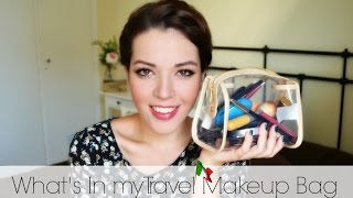 My Travel Makeup Bag| The Minimal Edition | Lousousou