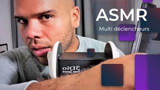 ASMR Francais *Multi déclencheurs spécial coiffure*