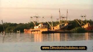 Un atardecer en Puerto El Triunfo Usulutan