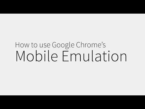 Tip How To Use Google Chromes Mobile Emulation