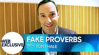 Tony Hale Doesn't Think You Should Be Naked in a Glass House