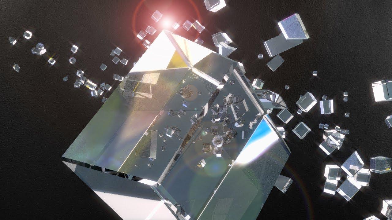 Dynamic glass titling in Blender tutorial