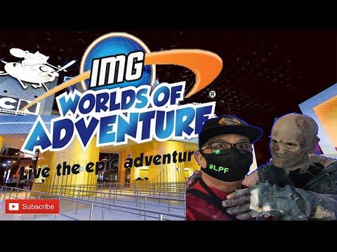 IMG WORLD OF ADVENTURE 2020/ AFTER LOCKDOWN DUBAI / INDOOR THEME PARK