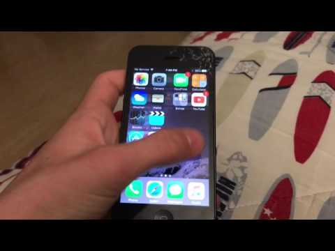 iPhone 5 found in recycling bin!