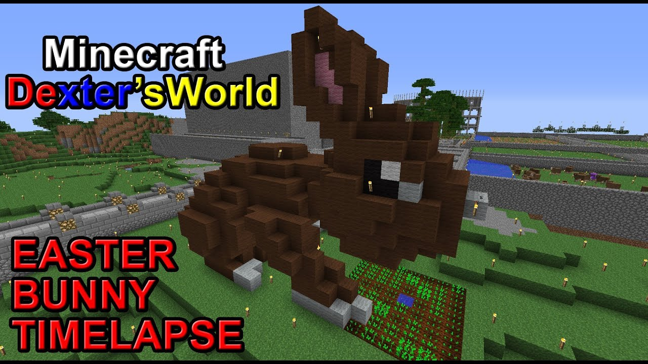 Minecraft easter bunny timelapse youtube minecraft easter bunny timelapse ccuart Images