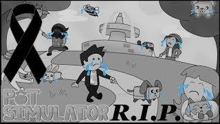🎗 ️ RobloX 🎗 is this the end of the ️ Pet Simulator!?!?!? ✝ ️ r.i.p ✝ ️