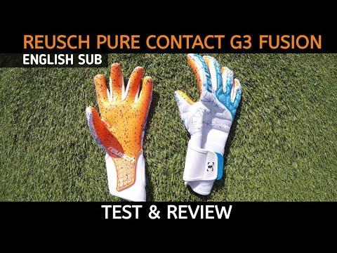 REUSCH PURE CONTACT G3 FUSION LTD | goalkeeperglove test & review | SHERLOCK GLOVES
