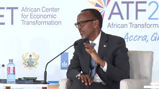 President Kagame at African Transformation Forum 2018 | Accra, 21 June 2018